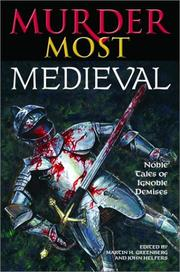 Cover of: Murder most medieval