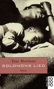 Cover of: Solomons Lied. Roman