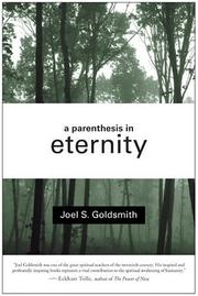 Cover of: A parenthesis in eternity