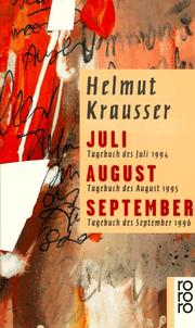 Cover of: Juli, August, September