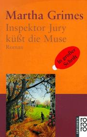 Cover of: Inspektor Jury küßt die Muse. Großdruck