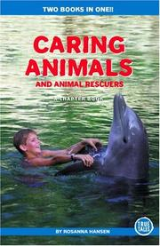 Cover of: Caring Animals and Animal Rescuers (Chapter Book) | Rosanna Hansen