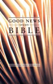 Cover of: Good News Study Bible | Aspin Wall