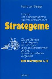 Cover of: Strategeme 1. Strategeme 1 - 18