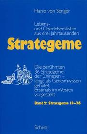 Cover of: Strategeme 2. Strategeme 19 - 36