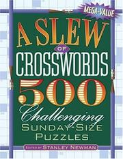 Cover of: A Slew of Crosswords | Stanley Newman