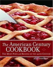 Cover of: The American Century Cookbook
