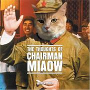 Cover of: The Thoughts of Chairman Miaow | Frank Hopkinson