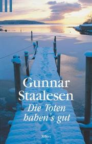 Cover of: Tote haben's gut