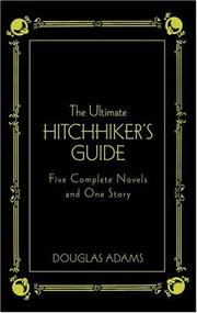 Cover of: The Ultimate Hitchhiker's Guide