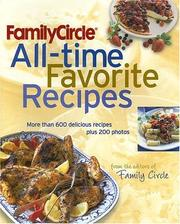 Cover of: Family Circle All-Time Favorite Recipes (Family Circle)