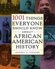 Cover of: 1001 things everyone should know about African-American history