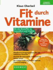 Cover of: Fit durch Vitamine
