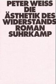Cover of: Die Ästhetik des Widerstands, Ln, in 3 Bdn., Bd.2