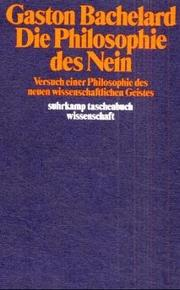 Cover of: Die Phiolosophie Des Nein