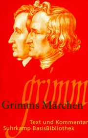 Cover of: Grimms Märchen