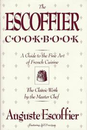 Guide culinaire by Auguste Escoffier
