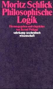 Cover of: Philosophische Logik