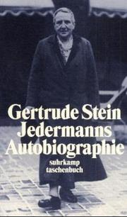 Cover of: Jedermanns Autobiographie