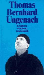 Cover of: Ungenach