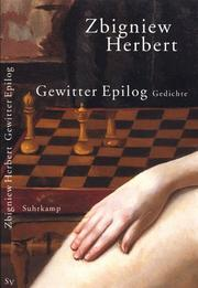 Cover of: Gewitter Epilog