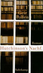 Cover of: Hutchinsons Nachf