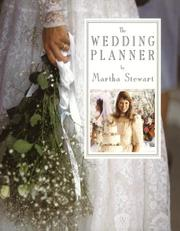 Cover of: Wedding Planner