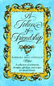 Cover of: Token of Friendship