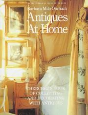 Cover of: Antiques at home