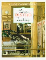 Cover of: Paris Bistro cooking
