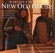 Cover of: Martha Stewart's new old house