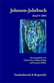 Cover of: Johnson- Jahrbuch 9/2002