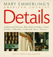 Cover of: Mary Emmerling