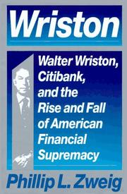 Cover of: Wriston