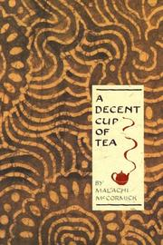 Cover of: A decent cup of tea