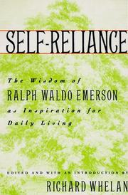Cover of: Self-reliance