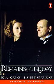 Cover of: The Remains of the Day.