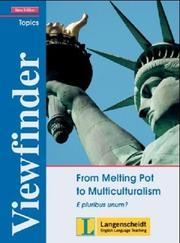Cover of: Viewfinder Topics, From Melting Pot to Multiculturalism