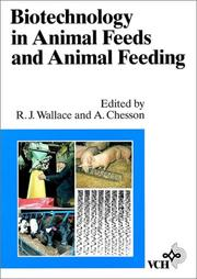 Cover of: Biotechnology in Animal Feeds and Animal Feeding |