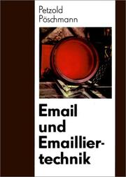 Cover of: Email Und Emailiertechnik