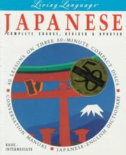 Cover of: Living Japanese, Revised (cd/book) (Living Language)