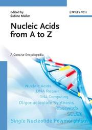 Cover of: Nucleic Acids from A to Z | Sabine MГјller