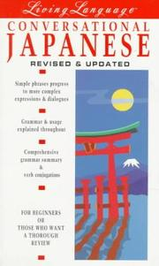 Cover of: Living Language Conversational Japanese (Living Language Coursebooks)