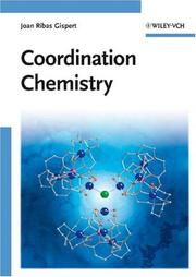 Cover of: Coordination Chemistry | Joan Gispert Ribas