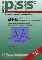 Cover of: Nanometer Semiconductor Devices