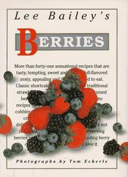 Cover of: Lee Bailey's berries