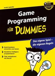 Cover of: Game Programming Für Dummies