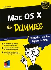 Cover of: Mac OS X Für Dummies