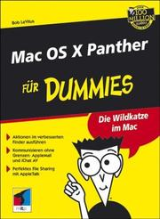 Cover of: Mac OS X Panther Für Dummies