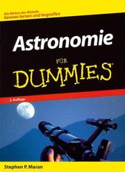 Cover of: Astronomie Für Dummies